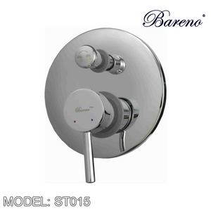 BARENO PLUS Concealed Shower Mixer ST015, Bathroom Faucets, BARENO PLUS - Topware Solutions