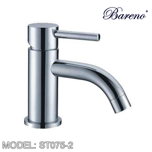 BARENO PLUS Pillar Basin Mixer ST075-2, Bathroom Faucets, BARENO PLUS - Topware Solutions