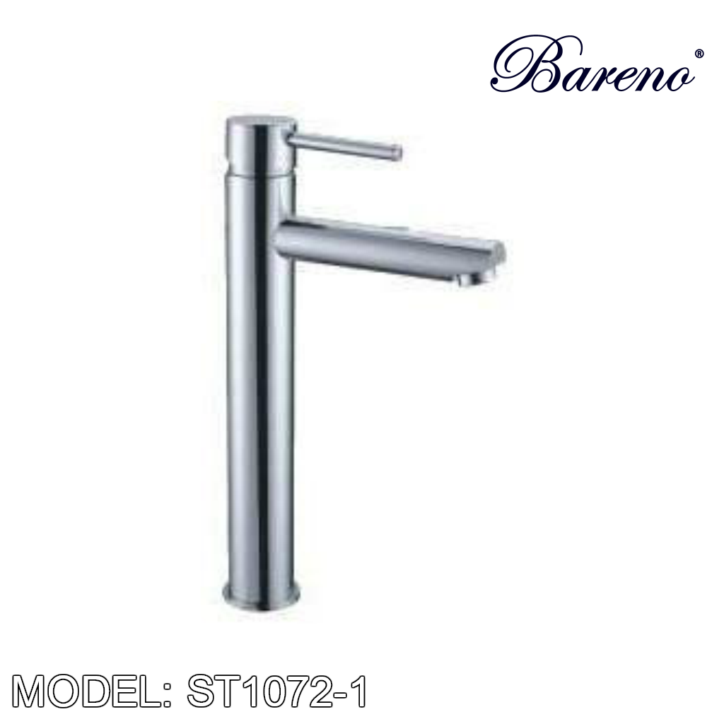 BARENO PLUS Raised Basin Tap ST1072-1, Bathroom Faucets, BARENO PLUS - Topware Solutions