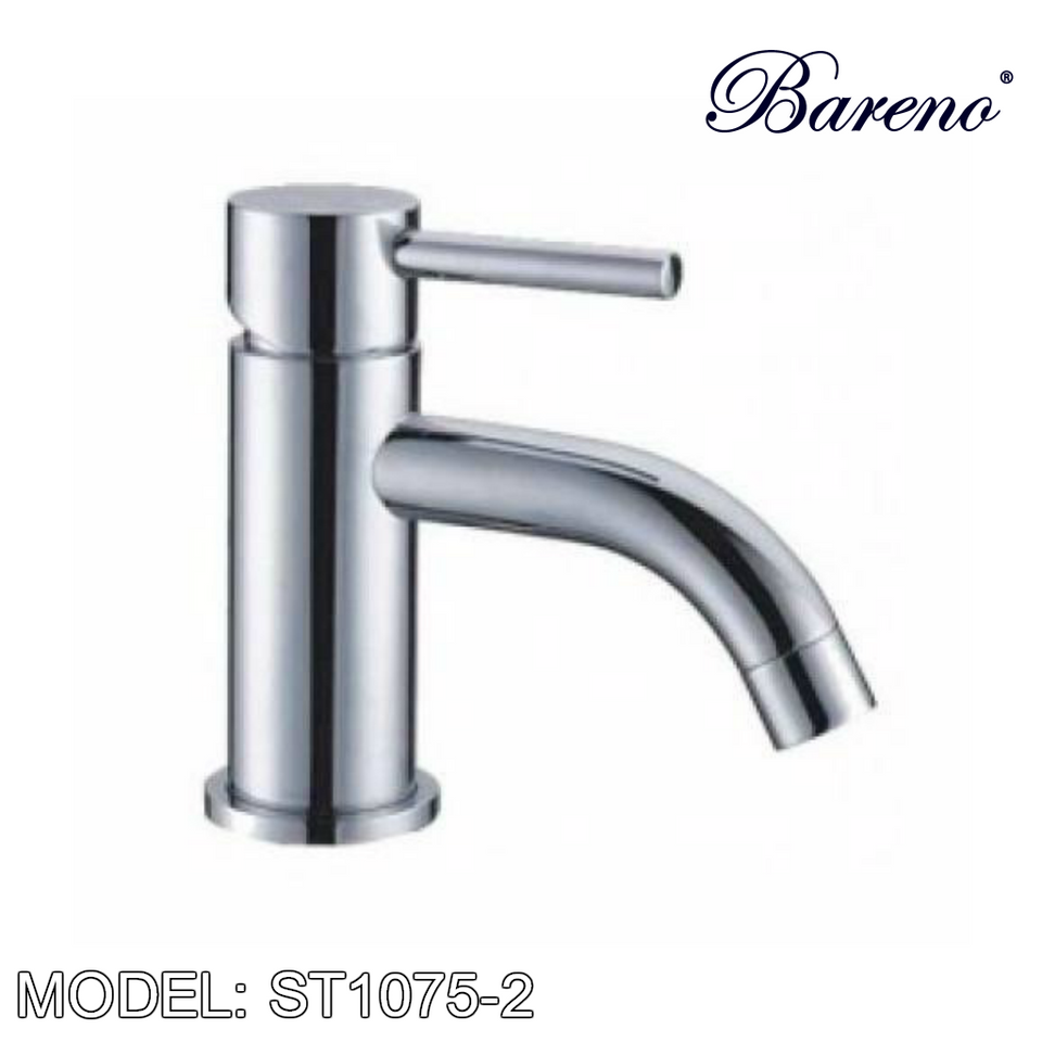 BARENO PLUS Pillar Basin Tap ST1075-2, Bathroom Faucets, BARENO PLUS - Topware Solutions