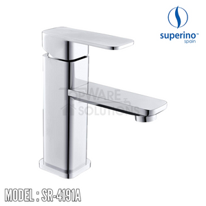 SUPERINO Pillar Basin Mixer Tap SR-4191A, Bathroom Faucets, SUPERINO - Topware Solutions