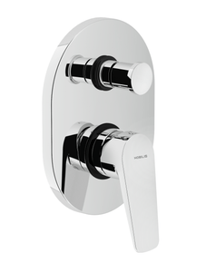 NOBILI Shower Mixer SKY SY97100CR, Bathroom Shower Set, BARENO by NOBILI - Topware Solutions