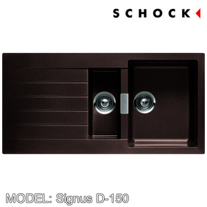 SCHOCK Granite Sink Cristadur Signus D-150 Kitchen Sinks BARENO by SCHOCK - Topware Solutions