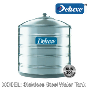 DELUXE Stainless Steel Water Tank (Without Stand/Flat Bottom) Water Tank DELUXE - Topware Solutions