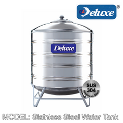 DELUXE Stainless Steel Water Tank (With Stand/Round Bottom) Water Tank DELUXE - Topware Solutions