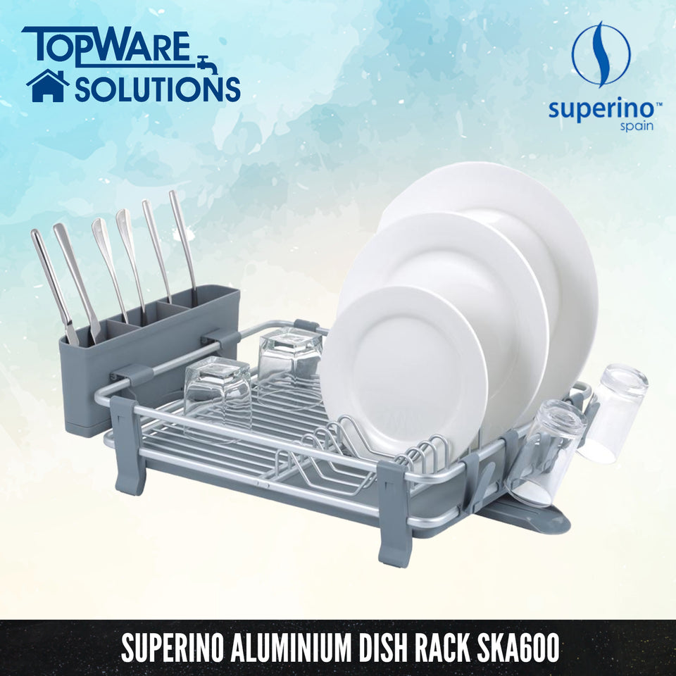 SUPERINO Aluminium Disk Rack SKA600, Dish Dryer, SUPERINO - Topware Solutions