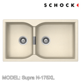 SCHOCK Granite Sink Cristadur Supra N-175XL, Kitchen Sinks, BARENO by SCHOCK - Topware Solutions