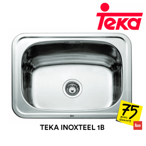 TEKA Stainless Steel Sink Inoxteel 1B, Kitchen Sinks, TEKA - Topware Solutions