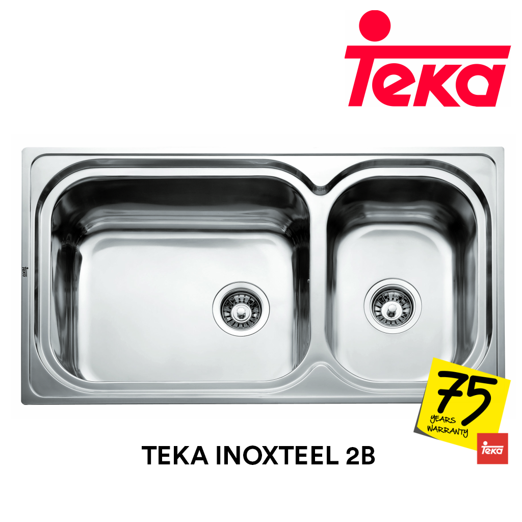 TEKA Stainless Steel Sink Inoxteel 2B, Kitchen Sinks, TEKA - Topware Solutions
