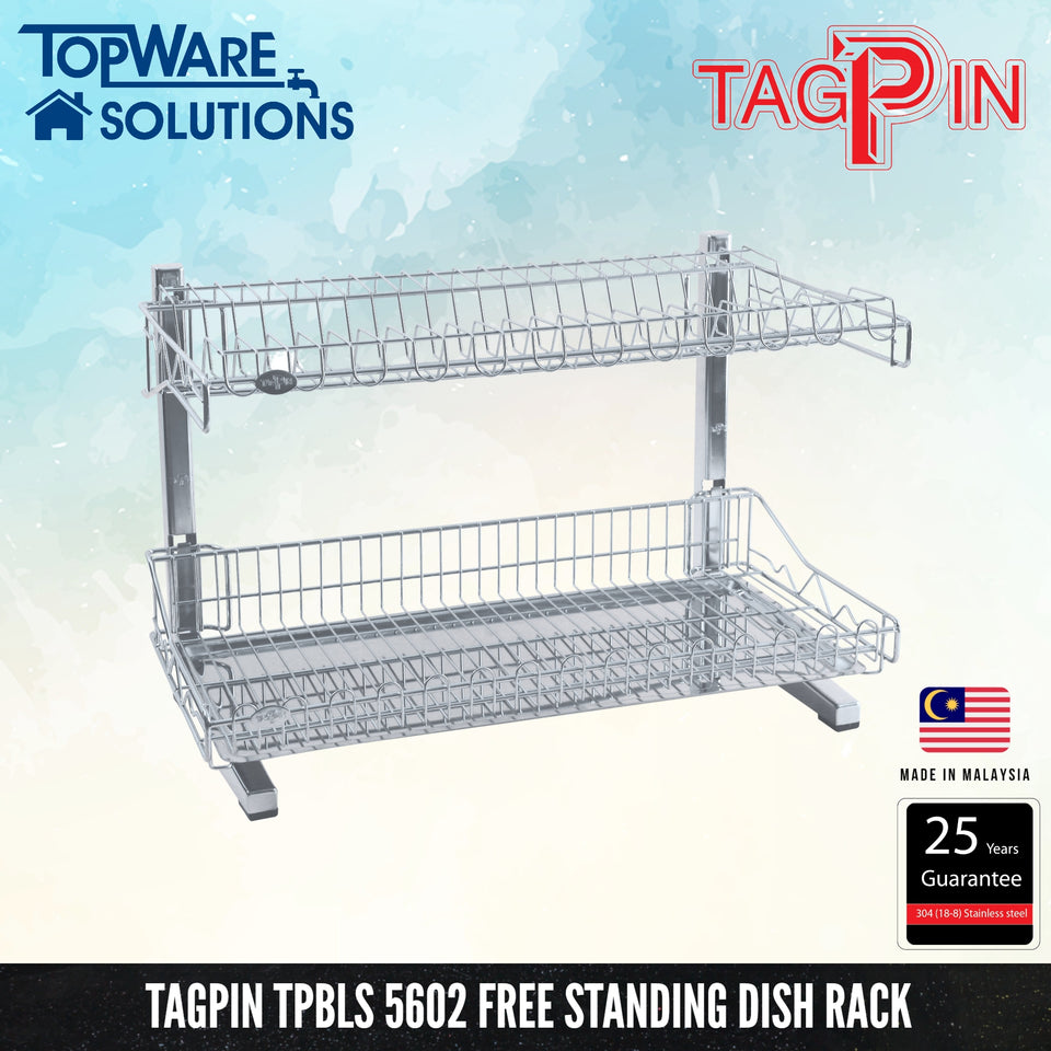 TAGPIN TPBLS 5602 Wall Mounted Dish Rack, Bathroom Accessories, Tagpin - Topware Solutions