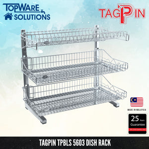 TAGPIN TPBLS 5603 Wall Mounted Dish Rack, Bathroom Accessories, Tagpin - Topware Solutions