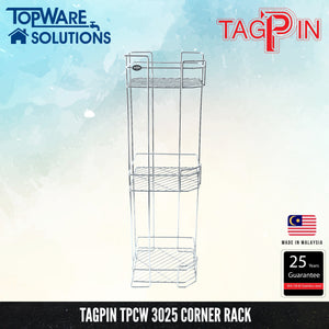TAGPIN TPCW 3025 Corner Rack, Bathroom Accessories, Tagpin - Topware Solutions