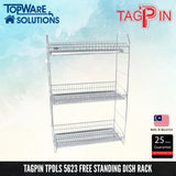 TAGPIN TPDLS 5623 Dish Rack, Bathroom Accessories, Tagpin - Topware Solutions