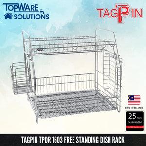 TAGPIN TPDR 1603 Dish Rack, Bathroom Accessories, Tagpin - Topware Solutions