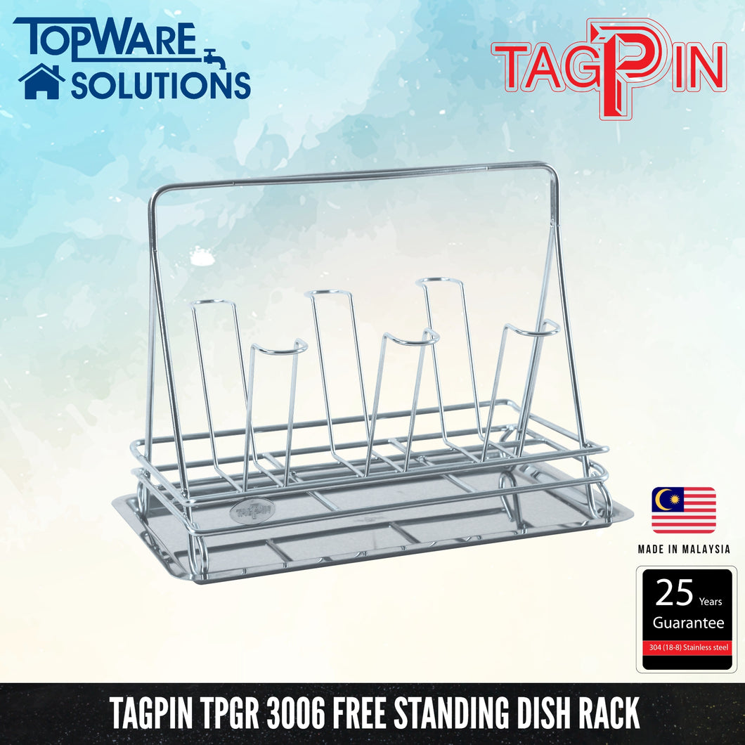 TAGPIN TPGR 3006 Dish Rack, Bathroom Accessories, Tagpin - Topware Solutions