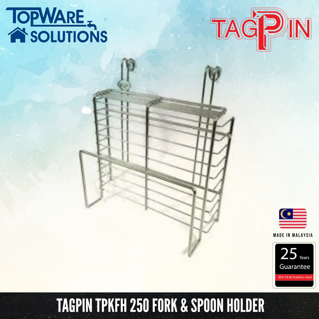 TAGPIN TPKFH 250 Fork & Spoon Holder, Bathroom Accessories, Tagpin - Topware Solutions