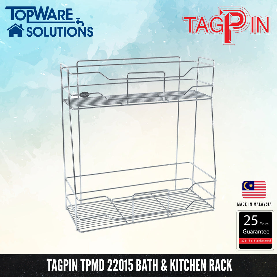 TAGPIN TPMD 22015 Bath and Kitchen Rack, Bathroom Accessories, Tagpin - Topware Solutions