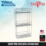 TAGPIN TPMD 32015 Bath and Kitchen Rack, Bathroom Accessories, Tagpin - Topware Solutions