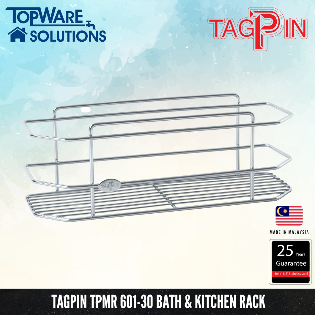 TAGPIN TPMR 601-30 Bath and Kitchen Rack, Bathroom Accessories, Tagpin - Topware Solutions