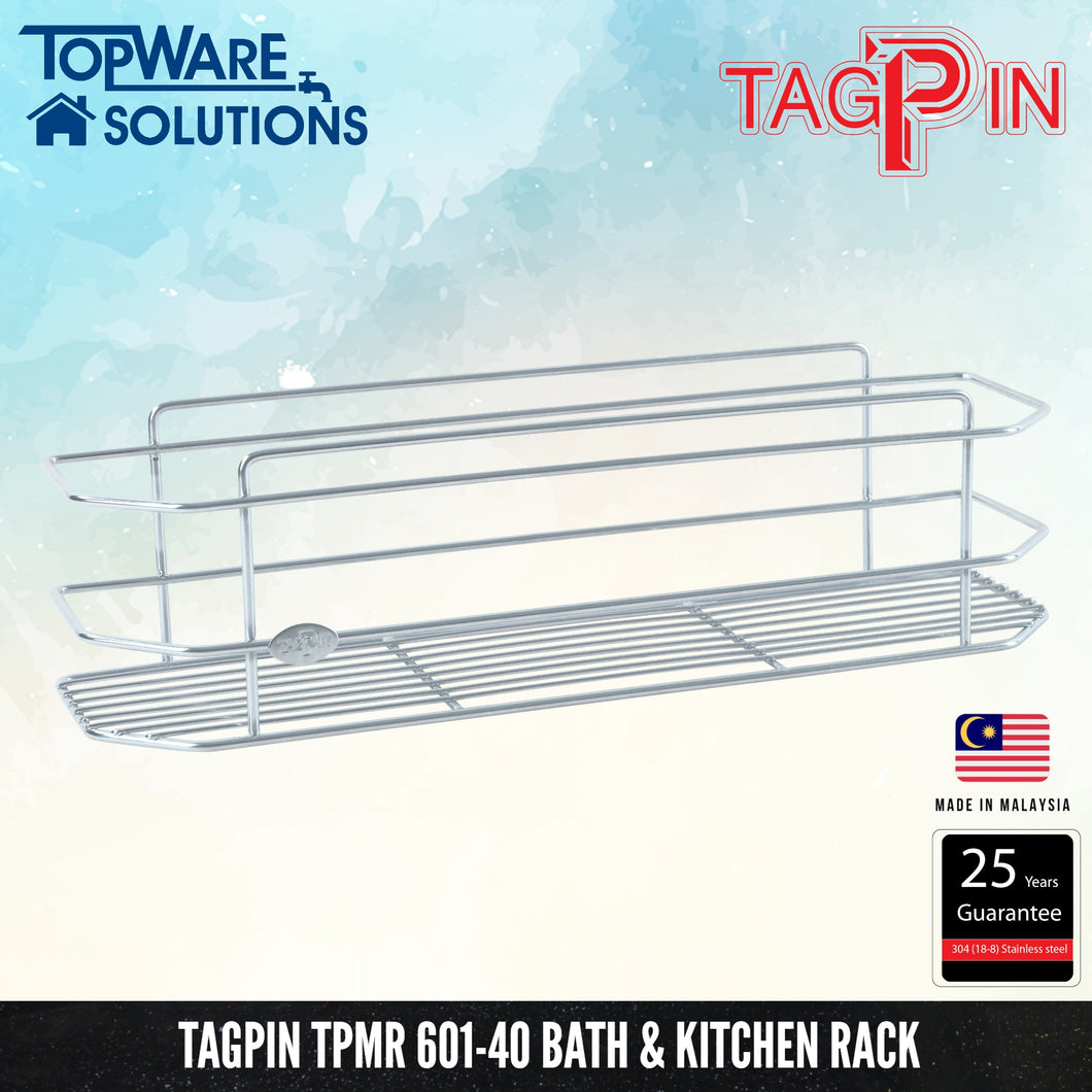 TAGPIN TPMR 601-40 Bath and Kitchen Rack, Bathroom Accessories, Tagpin - Topware Solutions