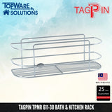 TAGPIN TPMR 611-30 Bath and Kitchen Rack, Bathroom Accessories, Tagpin - Topware Solutions