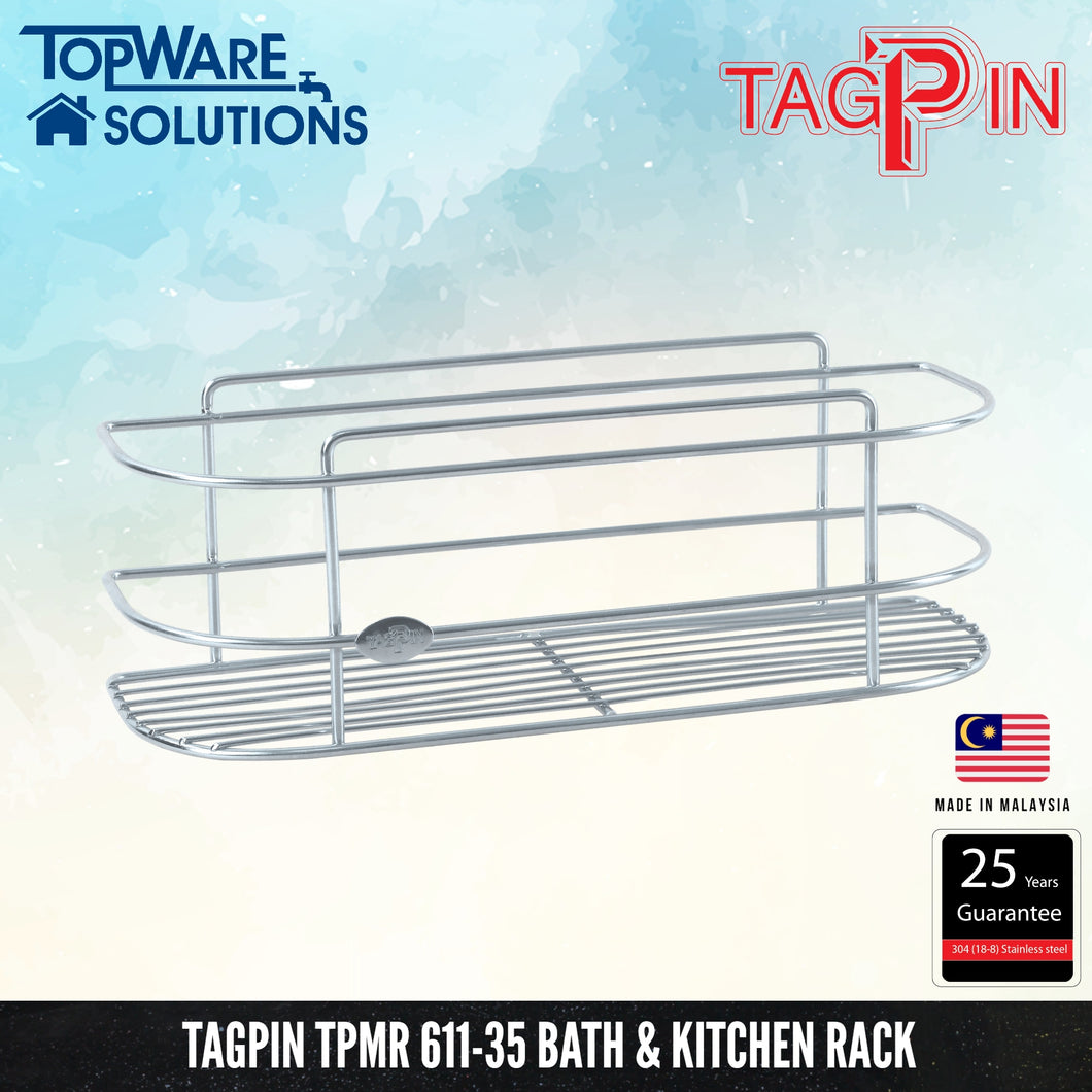 TAGPIN TPMR 611-35 Bath and Kitchen Rack, Bathroom Accessories, Tagpin - Topware Solutions