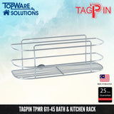 TAGPIN TPMR 611-45 Bath and Kitchen Rack, Bathroom Accessories, Tagpin - Topware Solutions