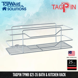TAGPIN TPMR 621-35 Bath and Kitchen Rack, Bathroom Accessories, Tagpin - Topware Solutions