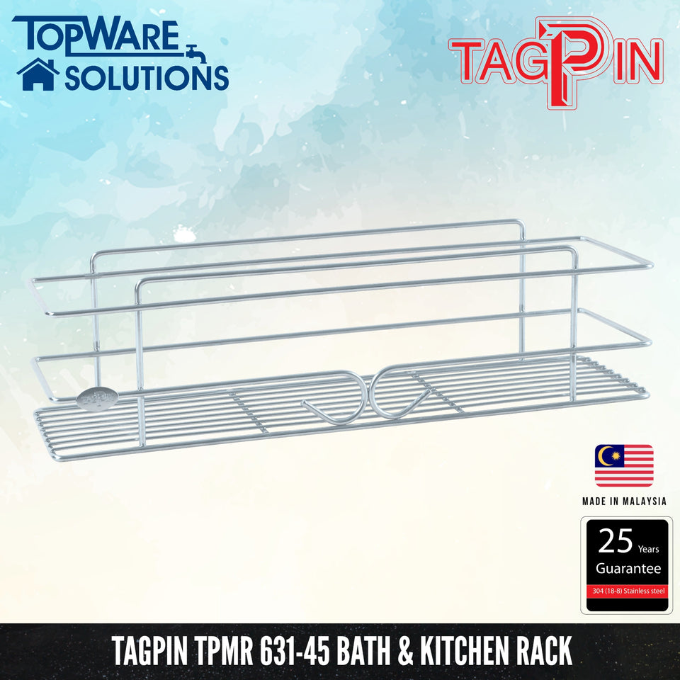 TAGPIN TPMR 631-45 Bath and Kitchen Rack, Bathroom Accessories, Tagpin - Topware Solutions