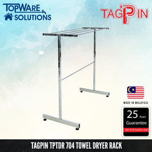TAGPIN TPTDR 704 Free Standing Towel Dryer Rack, Bathroom Accessories, Tagpin - Topware Solutions