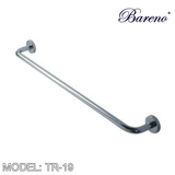 BARENO PLUS Towel Bar TR-19, Bathroom Accessories, BARENO PLUS - Topware Solutions