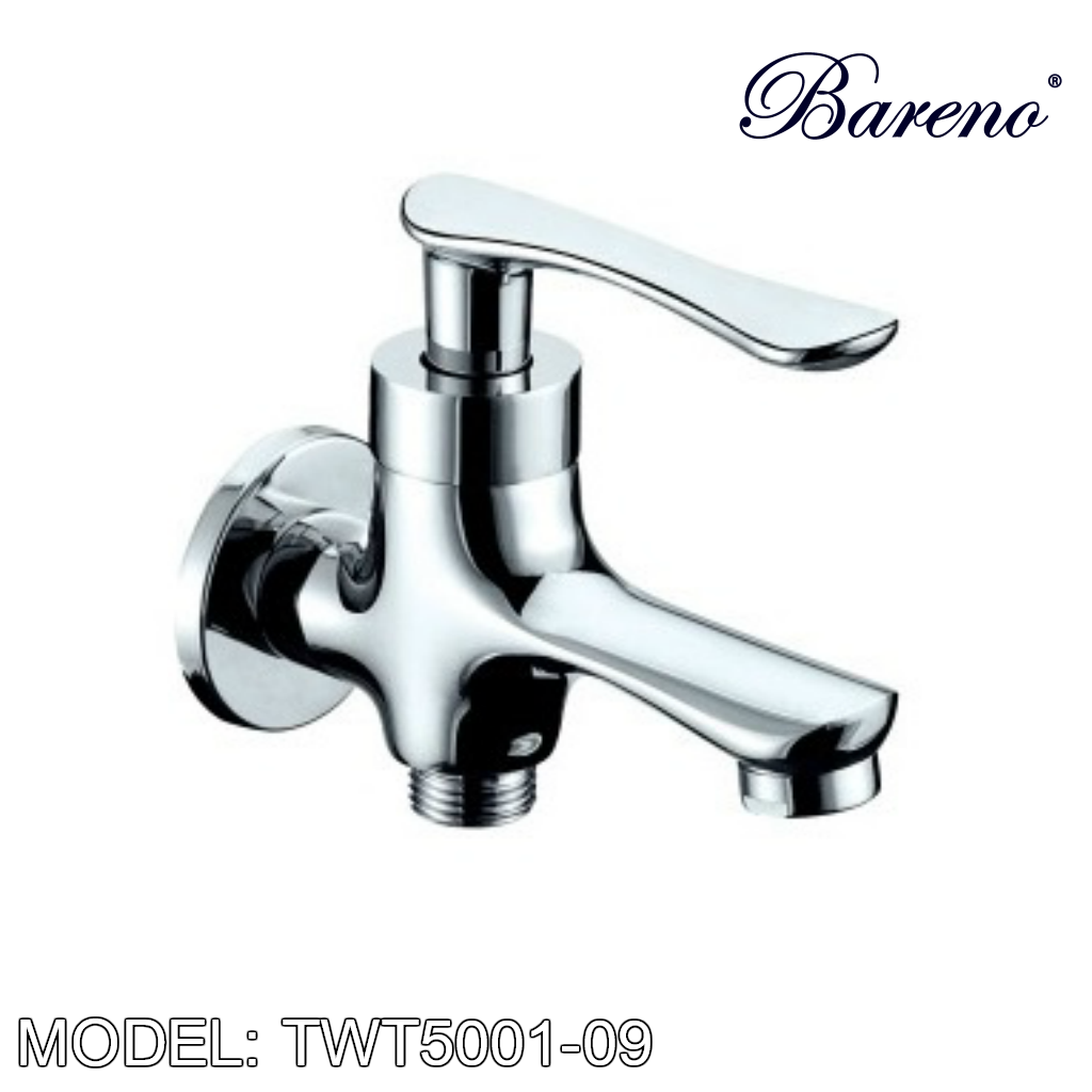 BARENO PLUS Two Way Tap TWT-5001-09, Bathroom Faucets, BARENO PLUS - Topware Solutions