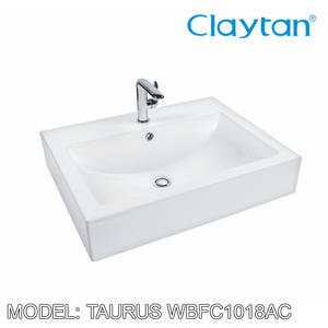 CLAYTAN Taurus Counter Top Basin WBFC1018AC, Bathroom Basins, CLAYTAN - Topware Solutions