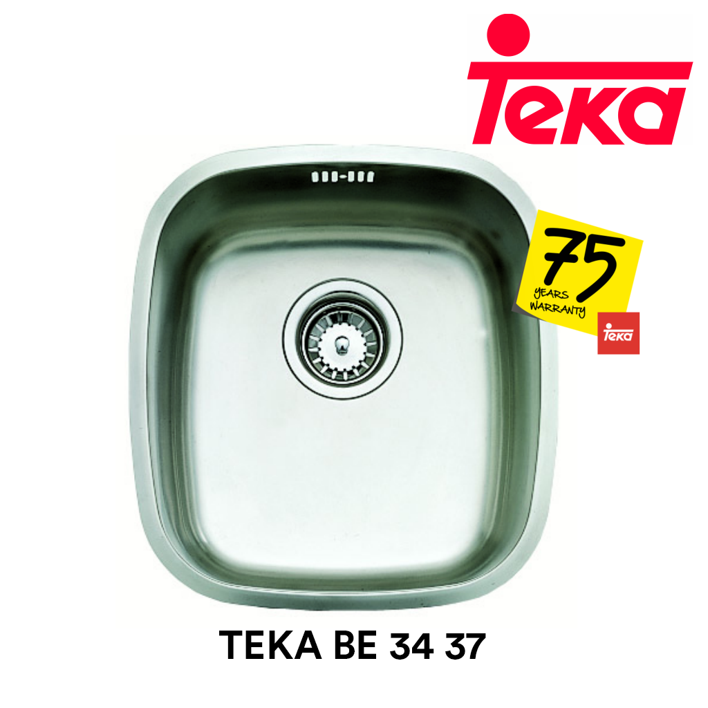 TEKA Stainless Steel Sink BE 34 37, Kitchen Sinks, TEKA - Topware Solutions