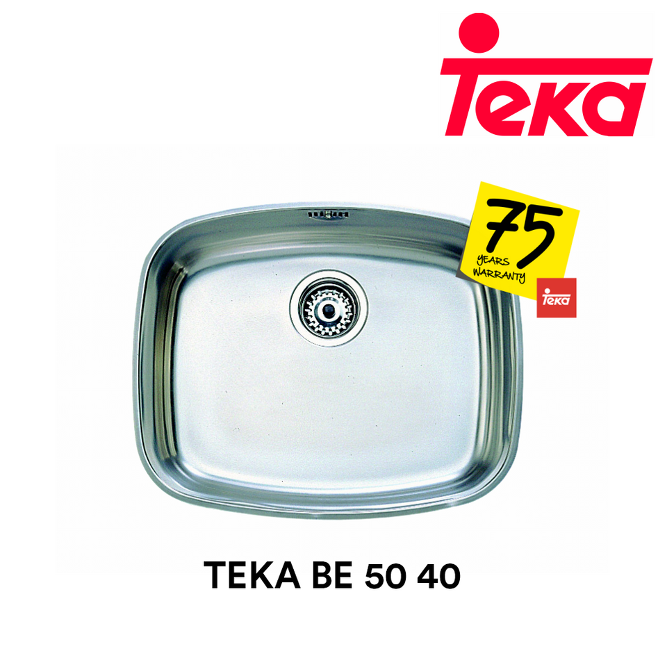 TEKA Stainless Steel Sink BE 50 40, Kitchen Sinks, TEKA - Topware Solutions