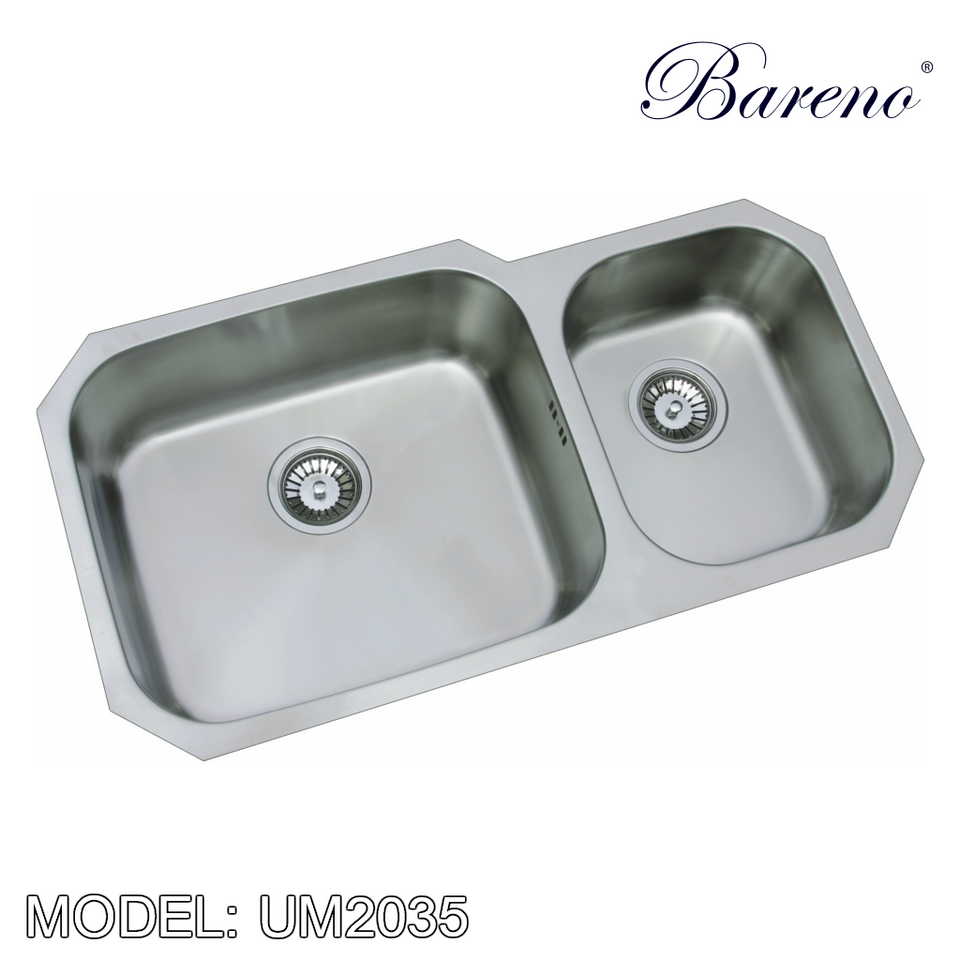 BARENO Kitchen Sink UM2035, Kitchen Sinks, BARENO - Topware Solutions