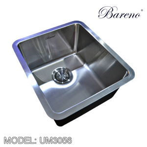 BARENO Kitchen Sink UM3056, Kitchen Sinks, BARENO - Topware Solutions