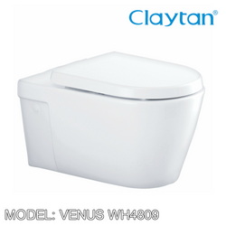 CLAYTAN Venus Wall Hung Pan WH4809 Bathroom W.Cs CLAYTAN - Topware Solutions