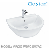 CLAYTAN Virgo Counter Top Basin WBFC1577, Bathroom Basins, CLAYTAN - Topware Solutions
