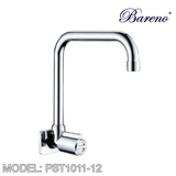BARENO PLUS Wall Sink Tap WST1011-12, Kitchen Faucets, BARENO PLUS - Topware Solutions