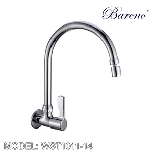 BARENO PLUS Wall Sink Tap WST1011-14, Kitchen Faucets, BARENO PLUS - Topware Solutions
