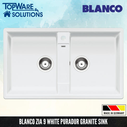 BLANCO Zia 9 Silgranit™ PuraDur™ Granite Sink, Kitchen Sinks, BLANCO - Topware Solutions