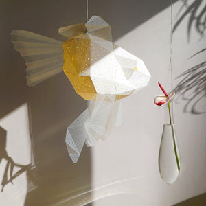 Mommy Goldfish Origami Lamp