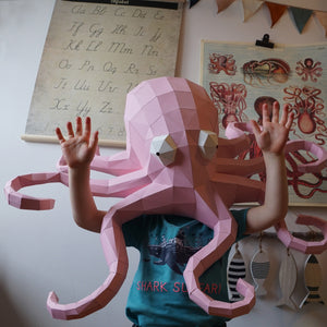 Molokai the Octopus - Papercraft Sculpture Kit