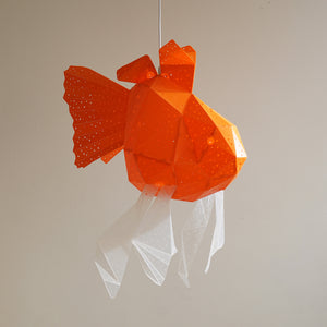 Giant Goldfish Lamp