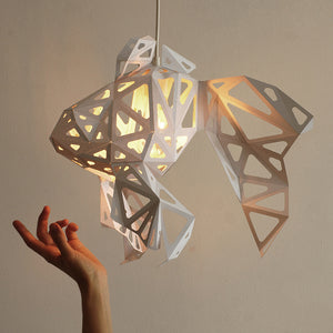 Fish Paper Lampshade