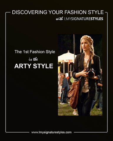 Discovering Your Fashion Style - The Arty Style
