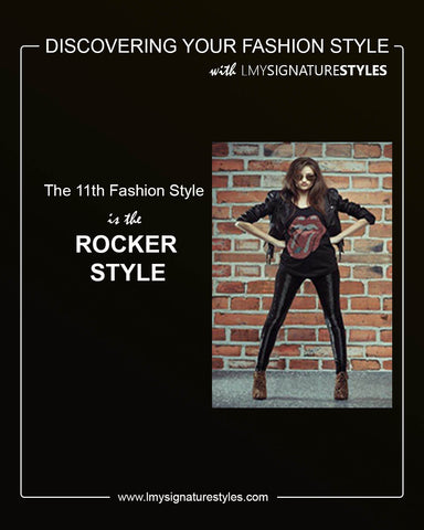 Discovering Your Fashion Style - The Rocker Style