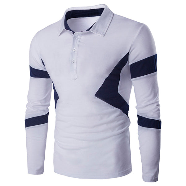 d4f2d49f8 Polo Shirt Long sleeve available in 2 colors Navy  White. League Color  Block Ra Ra Jersey Long Sleeve T-Shirt