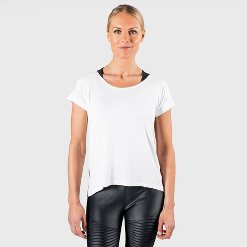 Core Pleated Tee